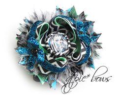 Monster High Inspired Frankie bow. $14.50, via Etsy.