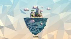 Polygon by C.I Shuffle, via Behance