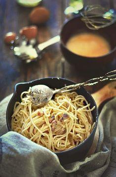 Espagueti carbonara | Cocina