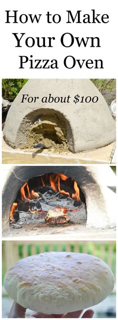 Learn how to make a pizza oven for about $100 and fire bake chicken, fish, bread pizza and cookies.