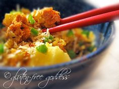 Gluten-Free Goddess Recipes: Pineapple Salmon Brown Rice Bake