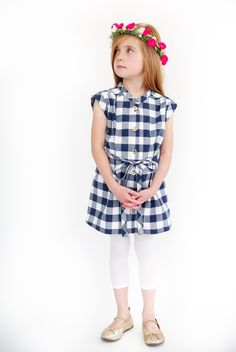 5 and 10 Designs VOL 3 Look #5 Shirtdress // craftiness is not optional