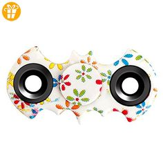 O-C hand spinners flower fidget toy cool portable two angle spinner finger spinner Quit smoking stress reducer anti-anxiety Mental Bearing for Relieves ADD ADHD Autism Adult Children - Fidget spinner (*Partner-Link)