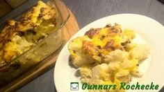 Blumenkohl-Kartoffel-Auflauf mit Hackfleisch