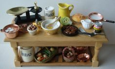 A weekday supper preparation table