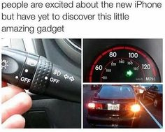 People Are Excited About New iPhone Releases But Are Yet To Discover This Amazing Little Gadget funny iphone lol humor funny pictures funny memes funny pics funny images really funny pictures funny pictures and images Funny Quotes, Funny Memes, Jokes, Car Memes, Car Quotes, Funny Captions, Humor Quotes, Dankest Memes, Pokemon Go