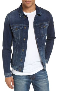 Looking for Mavi Jeans Frank Denim Jacket ? Check out our picks for the Mavi Jeans Frank Denim Jacket from the popular stores - all in one. Denim Jacket Fashion, Denim Jacket Men, Denim Jackets, Men's Denim, Denim Style, Denim Outfit, Moda Casual, Jackets Online, Mens Clothing Styles