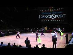 Amateur Latin Final - Cha Cha - BYU Dancesport Championships 2012