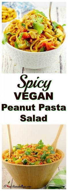 You Have Meals Poisoning More Normally Than You're Thinking That Spicy Vegan Peanut Pasta Salad Leftover Spaghetti Noodles Leftover Spaghetti Noodles, Pasta Noodles, Spicy Pasta Salads, Pasta Recipes, Cooking Recipes, Cooking Tips, Salad Recipes, Vegetarian Recipes, Vegetarian