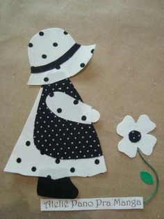 Black & White.. Just pic but really cute for quilt idea.