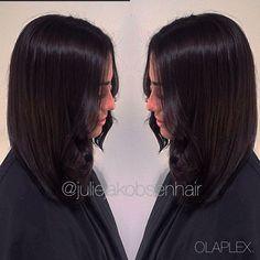 Love this dark color  5/71+4/77+3/0 4% 1/8 @olaplex ☺️