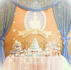 Cinderella's Dessert Table