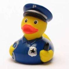 Badeente Polizei - Bild vergrößern