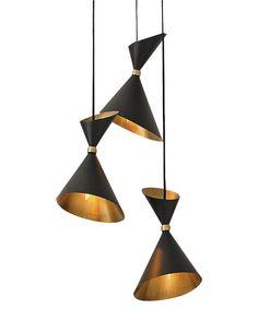 Dwell Cone Pendant, Bronze
