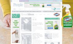 THE CLOROX COMPANY Clorox : Cleaner Para el lanzamiento de este nuevo producto de Clorox, diseñamos una campaña digital íntegramente desarrollada con los últimos standards de HTML5.. ver demo: www.e-zense.com/portfolio/the_clorox_company/clorox/cleaner/HTML5_Banners
