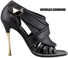 f761fbdd1f New in SHOP: Nicholas Kirkwood leather pin heel sandal bootie continue  reading →