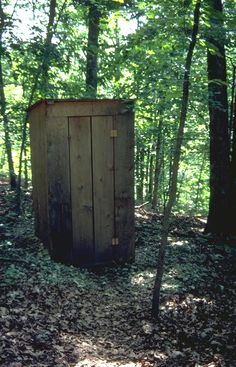outhouse for outdoor storage.