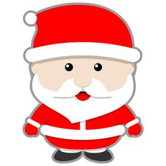 This cute Santa Claus clip art done in Kawaii-style can be used for both personal or commercial use. Description from clipartlord.com. I searched for this on bing.com/images