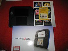 Nintendo 2DS (Latest Model)- Blue & Black Handheld (NTSC) with Tekken for 3DS #Nintendo