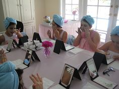 Creative Party Ideas by Cheryl: Spa Party