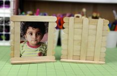 Craft / popsicle stick photo frame