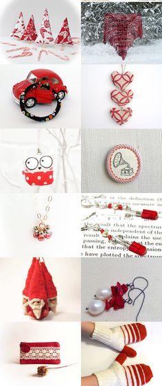 Classic Christmas!  by Marilyn MacCrakin on Etsy--Pinned with TreasuryPin.com