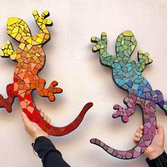 Mosaic Crafts, Mosaic Projects, Mosaic Art, Art Projects, Mosaic Animals, Mosaic Birds, Vitromosaico Ideas, Art Club, Yard Art