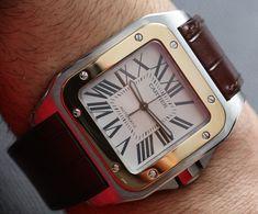 Cartier Santos 100 Watch Review