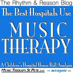"""Rhythm & Reason Blog, Post By: James E. Riley, MM, MT-BC –(727) 350-7897,james@mtstpete.org Music Therapy is the specialized application of evidence-based music interventions to accomplish non-musical objectives through a relationship with a Music Therapist – Board Certified (MT-BC). Whereas """"Music Medicine"""" is the use of passive music listening in waiting..."""