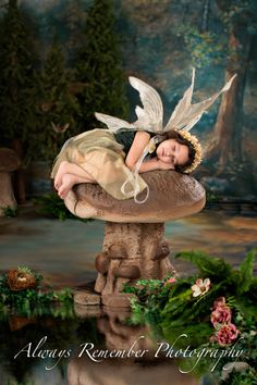 Fairy Portraits by Always Remember Photography Baby Fairy, Love Fairy, Fairy Costume Kids, Fairy Photoshoot, Fairy Photography, Fairies Photos, Good Night Gif, Foto Baby, Beautiful Fairies