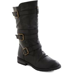 Put Down Routes Boot ($45) ❤ liked on Polyvore