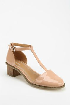 Cooperative Patent T-Strap Heel - Urban Outfitters