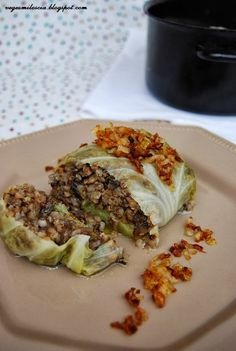 Cabbage Rolls Polish, Smoothies Vegan, Vegan Vegetarian, Vegetarian Recipes, Clean Eating, Healthy Eating, Polish Recipes, Polish Food, Love Eat