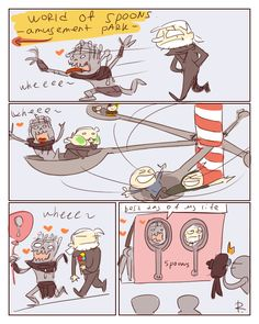 The Witcher 3, doodles 173 by Ayej.deviantart.com on @DeviantArt | Gaunter O'Dimm seems to be enjoying himself as well.