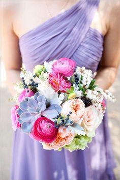 乱七八糟颜色的花朵多么美丽