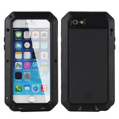 5/5S Luxury Dirt proof Shockproof Waterproof Case For iphone 5 5S Tough Armor Aluminum Metal Cover Gorilla Glass Hard Cover Digital Guru Shop  Check it out here---> http://digitalgurushop.com/products/55s-luxury-dirt-proof-shockproof-waterproof-case-for-iphone-5-5s-tough-armor-aluminum-metal-cover-gorilla-glass-hard-cover/