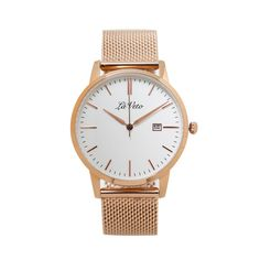 Our is an ultra slim design that boasts elegance and sophistication. This classic timepiece is simple yet stylish m Mesh Band, Rose Gold Watches, Classic, Accessories, Derby, Classical Music