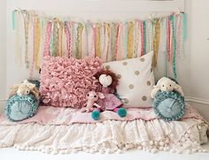 kids room inspiration - ribbon garland