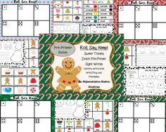 """This product includes the Sweet Treats themed """"Roll, Say, Keep!"""" game with Pre-Primer Dolch sight words. I have included the Pre-Primer Dolch list. There are two different types of extension activities to go with the game/center. There is also a Sweet Treats themed color word wall to place in the writing center, as well as, Sweet Treats themed words that can be used as a word wall or portable word ring."""
