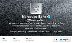 Fotos Twitter de portadas de Mercedes Benz