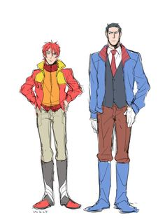 IDW Rodimus Prime and Ultra Magnus - HumanFormers by wakachiko on Tumblr