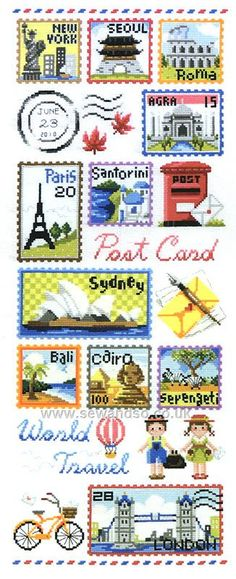Shop online for The World's Postage Stamps Chart Booklet at sewandso.co.uk. Browse our great range of cross stitch and needlecraft products, in stock, with great prices and fast delivery.