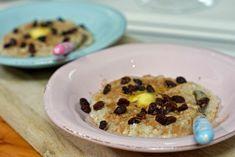 "Steel cut ""gourmet"" havregrøt – Berit Nordstrand Scones, Healthy Recipes, Healthy Foods, Oatmeal, Sandwiches, Berries, Food And Drink, Healthy Eating, Lunch"