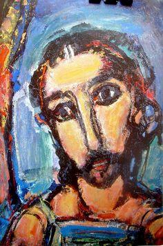 Volto di Cristo, di Georges Rouault.