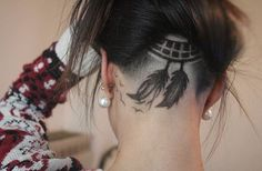 Dream Catcher Floating Feather  Cut By @barberlele23 Go Follow His Amazing Page…