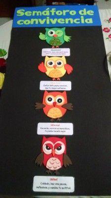 Semaforo conducta búhos (1) Owl Classroom, Bilingual Classroom, Classroom Decor, Primary Teaching, Teaching Resources, Creative Class, Behaviour Chart, Art Drawings For Kids, School Subjects