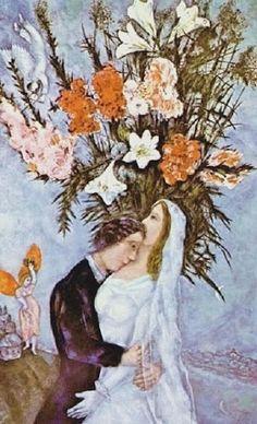 O casamento, 1910 Marc Chagall (Rússia/França, 1887-1985) óleo sobre tela