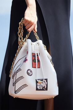 Check Out Dior's Cruise 2016 Bags, Straight from the Runway Hermes Handbags, Burberry Handbags, Purses And Handbags, Designer Handbags, Beautiful Handbags, Beautiful Bags, Christian Dior, Handbag Accessories, Fashion Accessories