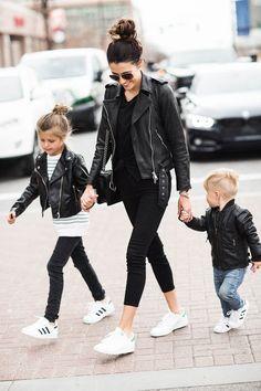 Rocker vibes for the whole family. #RockerMom