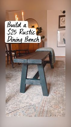 Diy Furniture Projects, Diy Wood Projects, Furniture Makeover, Wood Furniture, Home Projects, Wood Crafts, Rustic Dining Benches, Aragorn, Diy Chair